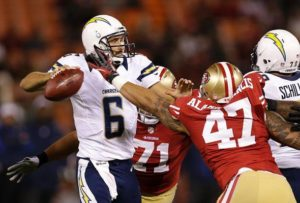 Chargers 49ers Week 16